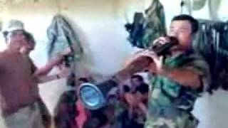 Funny Kurdish Peshmerga Zurna 2010