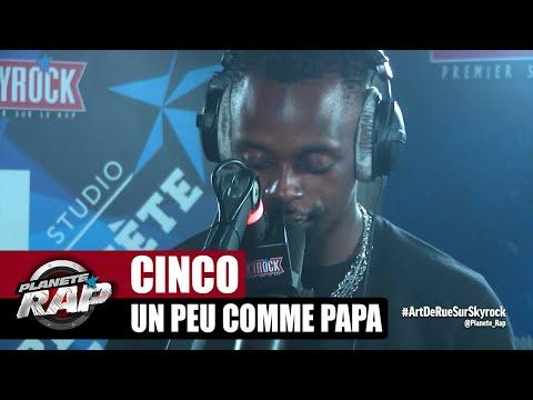 Youtube: Cinco«Un peu comme papa» #PlanèteRap
