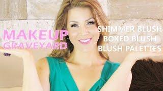 MAKEUP GRAVEYARD : Blush Palettes, Shimmers & Boxes