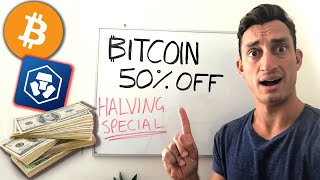 24-Hours ONLY! Bitcoin 50%-OFF with Crypto.com: [Explained]