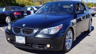 2005 BMW 5 Series 545i 6-Speed Sedan