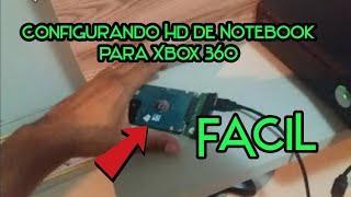 Configurando HD de notebook no Xbox 360