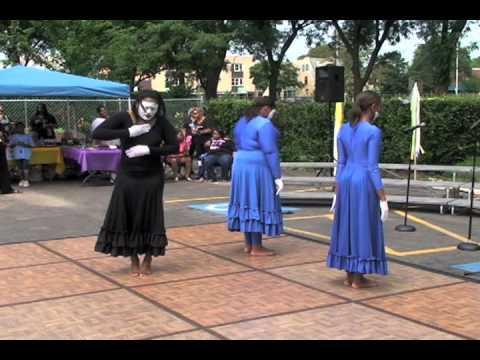 DeNishia's Performance (Gospel Mime/Praise Dance Combo) 4 songs!