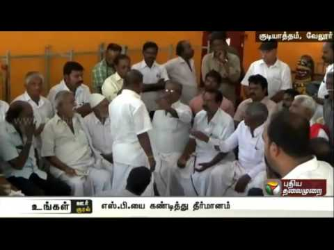 Temple authorities adopt resolution against Gudiyatham police inspector, DSP