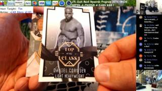 one of one auto 2016 topps ufc top of the class tim f hobby box break