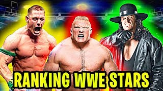 Ranking Every WWE Wrestler From WORST to BEST!