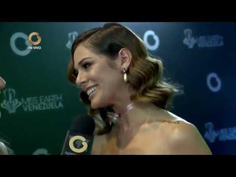 Personalidades desfilaron por la alfombra roja del Miss Earth Venezuela 2017