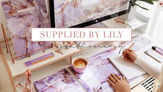 BACK TO SCHOOL STATIONERY HAUL  ✨ Supplied by Lily 4.0 Collection Overview
