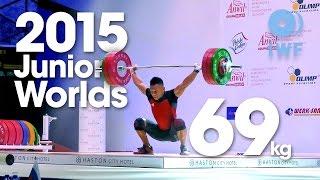 69kg Best Lifts 2015 Junior World Championships