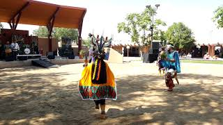 NM State Fair - Indian Village 2019  –  Hoyapi Hopi Dance Group - Butterfly Dance