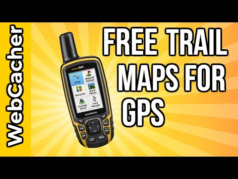 How To Download Free Trail Maps On Garmin GPS