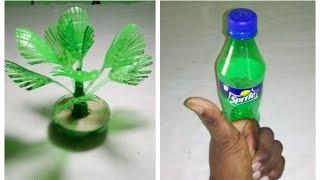 Make Wonderful Plum Tree With plastic bottle    প্লাস্টিক বোতল দিয়ে নাইস আইডিয়া।
