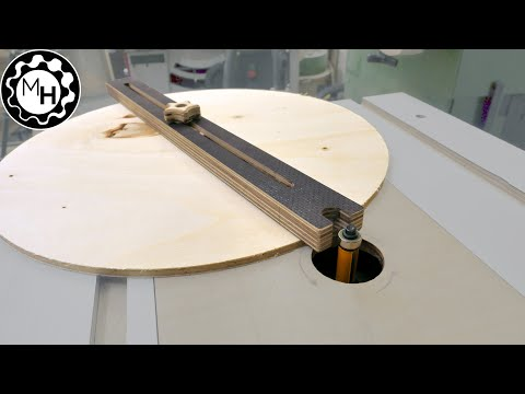 Simplest Router Table Circle Jig