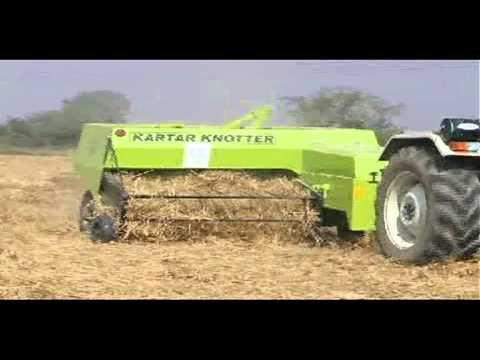 Baler in India...KARTAR Agro Production....KARTAR baler...