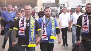 ITV about Kosovo National Team before England match