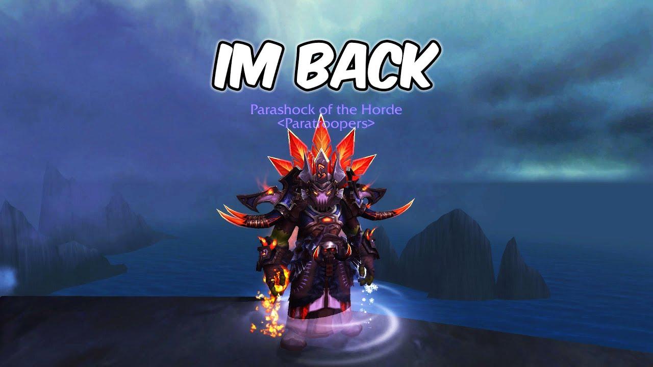 I'M BACK - Enhancement Shaman PvP