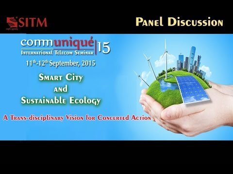 Communiqué15 - Panel Discussion: Smart City and Sustainable Ecology