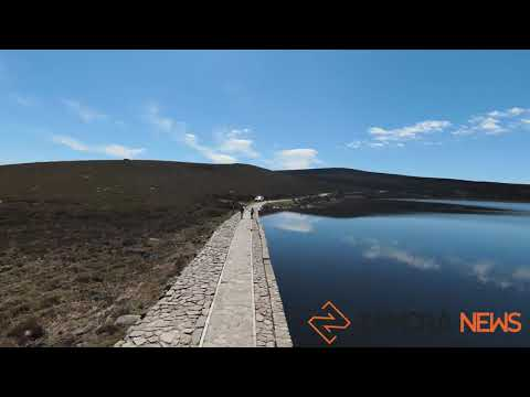La Laguna de Peces a vista de drone