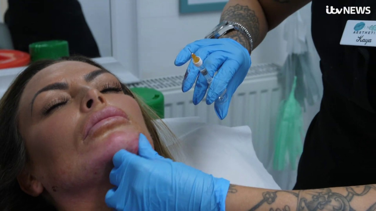 Is the rise of Kylie Jenner lip, cheek and jaw filler packages a cause for concern? | ITV News