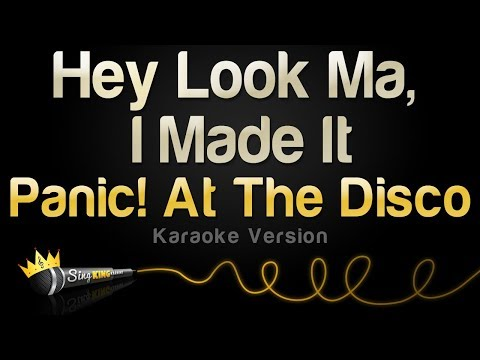 Panic! At The Disco - Hey Look Ma, I Made It (Karaoke Version)