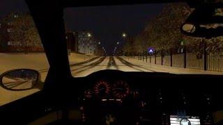 Скачать City Car Driving 1 5 BMW 520i E39 Snow Drift