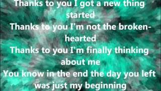 Kelly Clarkson - what doesnt kill you (stronger) Acoustic [w/lyrics]