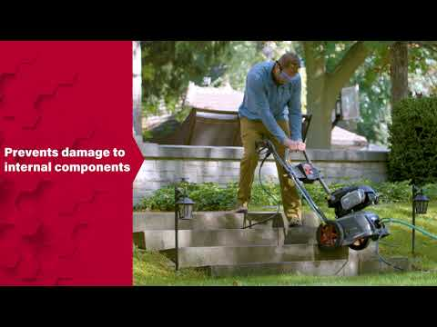 Briggs & Stratton® Pressure Washers: Stamped Base & Fold-Down Handle