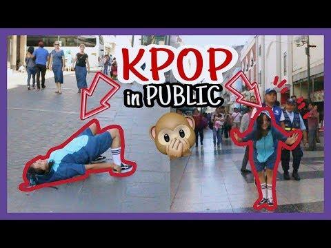 Cover Lagu KPOP PUBLIC DANCE CHALLENGE || Bailando KPOP en publico (MOMOLAND - TWICE- BTS) || Akira Lau STAFABAND