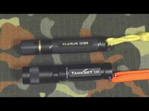 Фонарик ААА на ключи Klarus Mi10: обзор и тесты