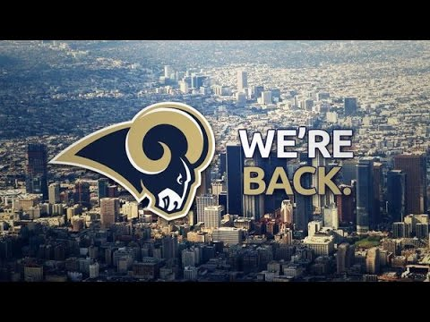 """Los Angeles Rams """"The Return"""" 