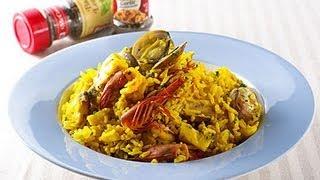 【楊桃美食網】西班牙海鮮燉飯