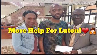 Member of Parliament for West Kingston, Desmond McKenzie has donated $500,000 to Luton Shelton!