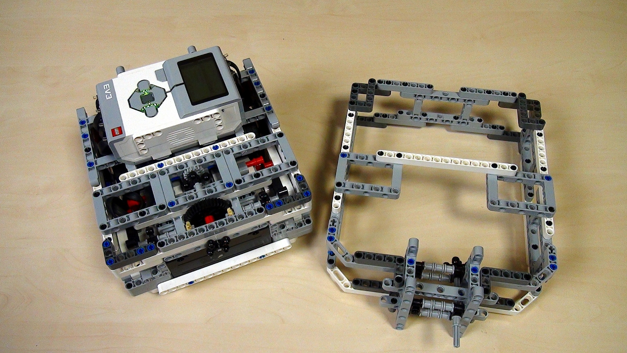 Box Robot Two  Frame for pinless attachments