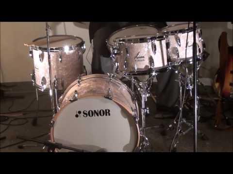 """Steve Maxwell Vintage Drums - Sonor WMP Vintage Series 20/10/12/14/5.75x14"""" 3 tunings!"""