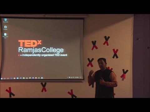 Citizen Journalism | Akash Soni | TEDxRamjasCollege