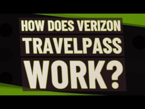 How Does Verizon TravelPass Work?
