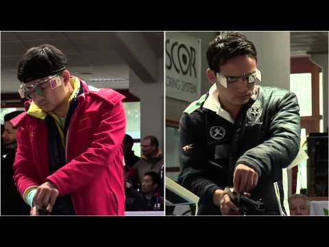 50m Men's Pistol final - Munich 2013 ISSF World Cup