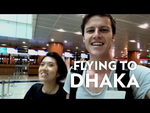 Flying to Bangladesh