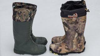 видео Зимняя обувь для охоты. Разновидности и критерии выбора