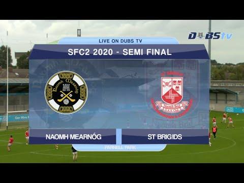 Dublin Senior 2 Football Semi Final- St Brigids v Naomh Mearnog