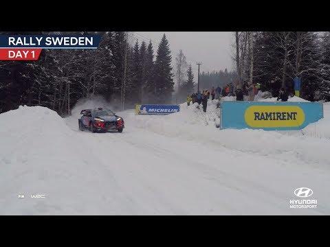 Rally Sweden Day One - Hyundai Motorsport 2018