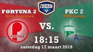 Fortuna/Delta Logistiek 2 - PKC/SWKGroep 2 | 17-03-2018