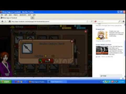 Cheating Ninja Saga Gold by using Cheat Engine 5.6.1 - YouTube