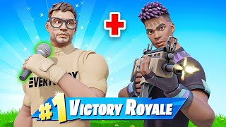 I played Fortnite with a Famous RAPPER!