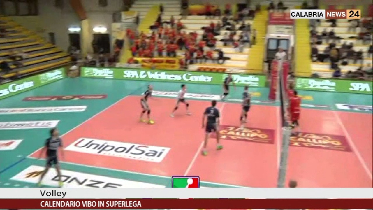 Superlega Volley Calendario.Vibo Volley Calendario Di Superlega Calabria News 24