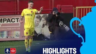 Alfreton Town 1-4 Fleetwood Town   Round 1   Emirates FA Cup 2018/19