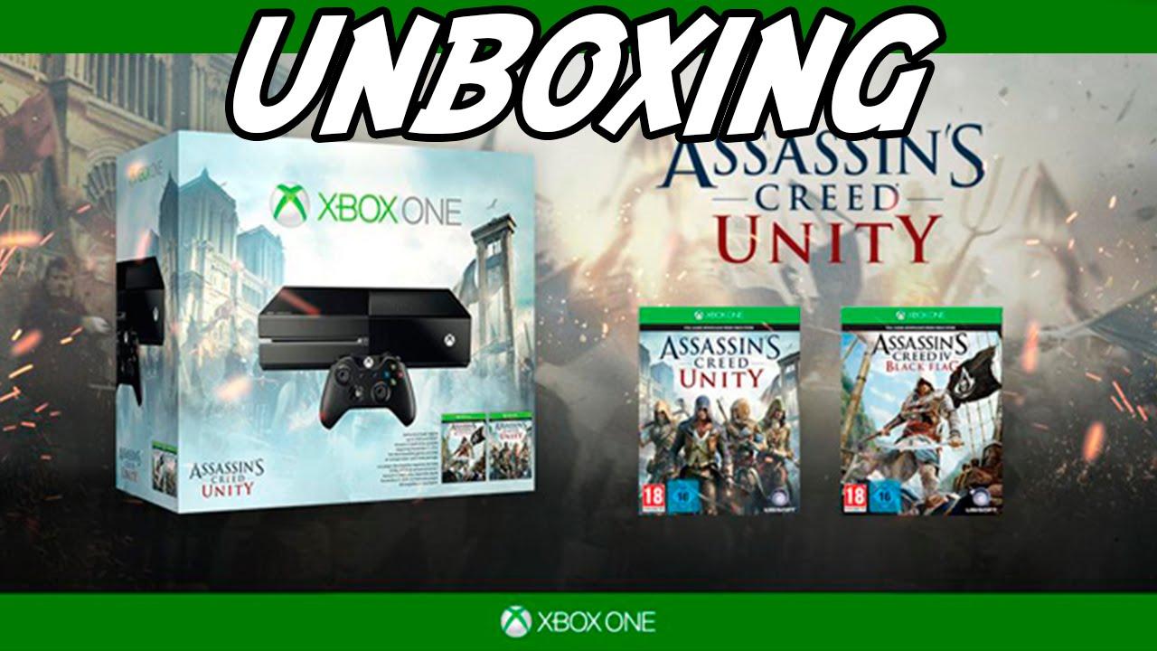 Xbox One assassin's creed unity bundle - UNBOXING - YouTube