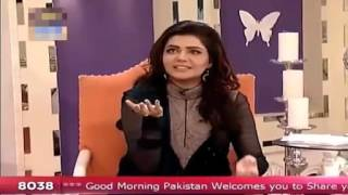 Shabbir Jan gets angry with Nida Yasir in Good Morning Pakistan Talk Show   Video Dailymotion