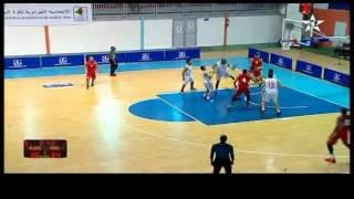 ملخص مباراة المنتخب المغربي 76-71 الجزائري  تصفيات المنطقة الأولى المؤهلة لكأس إفريقيا لكرة السلة