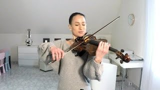 I wanna grow old with you - violin cover- Céline Prussel